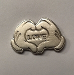 Disney Pocket Token - Piece of Magic - Mickey's Hands - LOVE