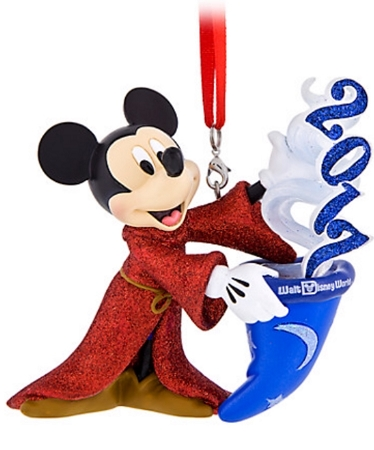 disney christmas ornament 2017 sorcerer mickey mouse figure