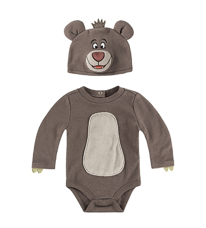 Disney Bodysuit For Baby Baloo With Hat Jungle Book