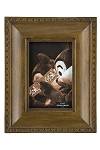 Disney Photo Frame - Mickey Mouse Icon Outline - Brown - 4 x 6