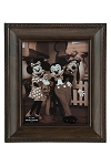 Disney Photo Frame - Mickey Mouse Icon Outline - Brown - 8 x 10