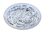 Disney Platter Plate - Be Our Guest - Lumiere