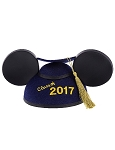 Disney Hat - Graduation Ears Cap - Class of 2017