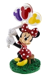 Disney Photo Clip Figurine - Minnie Mouse with Balloons