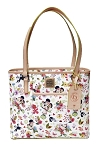 Disney Dooney & Bourke Bag - 2018 Flower and Garden - White Tote