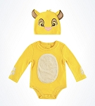 Disney Bodysuit for Baby - Simba with Hat - Lion King