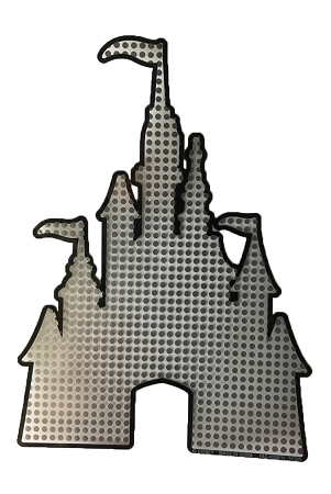 Disney Auto Decal - Cinderella Castle