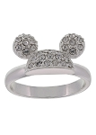 Disney Ring - Mickey Pave Ear Hat