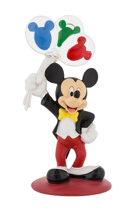 Disney Photo Clip Figurine - Mickey Mouse with Balloons