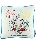 Disney Throw Pillow - Mickey and Minnie Castle - My Happy Place