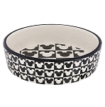 Disney Tails Pet Bowl - Mickey Mouse - Checkered
