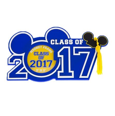 Disney Photo Frame Magnet 2017 Graduation Class Of 2017