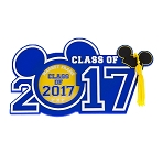 Disney Photo Frame Magnet - 2017 Graduation - Class of 2017