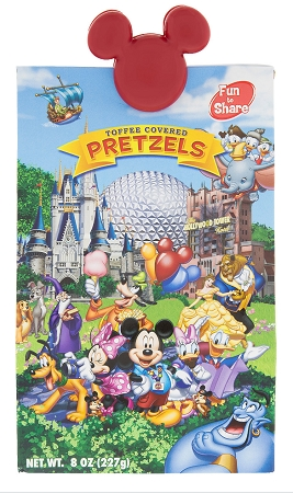 Disney Pretzels - Storybook - Toffee Covered Pretzels