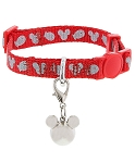 Disney Tails Cat Collar - Mickey Mouse - Red
