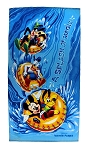 Disney Beach Towel - Water Parks - Mickey and Friends