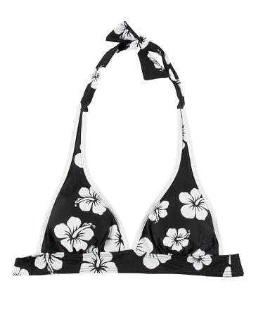 91a4280c26 Add to My Lists. Disney Bikini Swim Top - Floral Mickey Icon