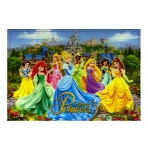 Disney Postcard - Princesses - Lenticular