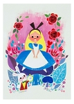 Disney Postcard - Alice in Wonderland - By Chou