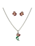 Disney Necklace and Earrings Set - Ariel - The Little Mermaid