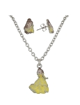 Disney Necklace and Earrings Set - Belle - Beauty and the Beast