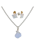 Disney Necklace and Earrings Set - Cinderella