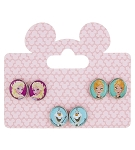 Disney Earrings Set - Frozen Character - Set of 3