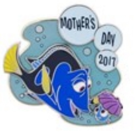 Disney Mother's Day Pin - 2017 Finding Dory