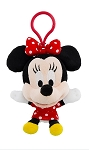 Disney Plush Keychain - Minnie Mouse - Large
