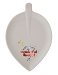Disney Appetizer Plate - Never Land - Peter Pan - White