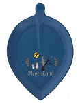 Disney Appetizer Plate - Never Land - Peter Pan - Blue
