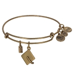 Disney Alex and Ani Bracelet - 2017 Graduation Cap - Gold