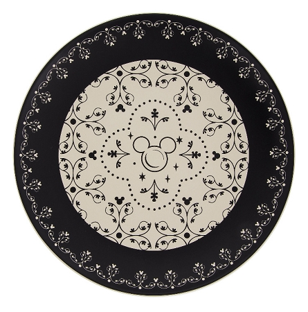 sc 1 st  Magical Ears Collectibles & Disney Dinner Plate - Mickey Mouse Icons - Black and Cream