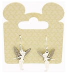 Disney Drop Earrings - Tinker Bell - Silver