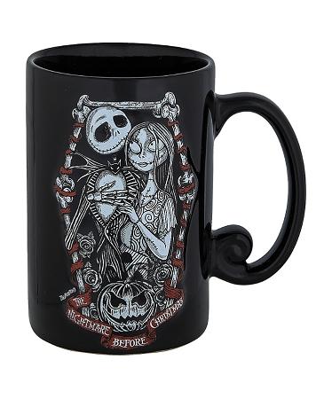 Nightmare Before Christmas Coffee Mug.Disney Coffee Mug Jack And Sally Nightmare Before Christmas