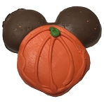 Disney Sugar Cookie - Halloween Mickey Pumpkin - Chocolate Ears