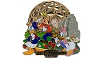 Disney Flower & Garden Festival Pin - 2014 Mickey and Friends - Jumbo