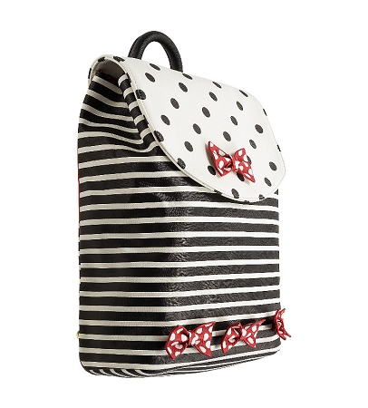 fa4588c7bcf Add to My Lists. Disney Backpack Bag - Minnie Mouse Stripes and Bows