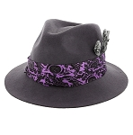 Disney Hat - Fedora Hat - Haunted Mansion - Ghost Pins