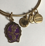Disney Alex and Ani Bracelet - Halloween - Minnie Cameo - Gold