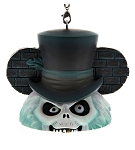 Disney Ears Hat Ornament - Haunted Mansion - Hatbox Ghost - Light Up