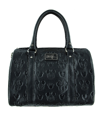 Disney Loungefly Satchel Bag - Mickey and Minnie Mouse Embossed