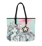 Disney Loungefly Tote Bag - Ariel Watercolor