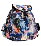 Disney Loungefly Backpack Bag - Star Wars Collage