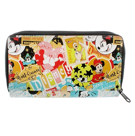 Disney Wallet - Classic Collage Disney Parks Wallet