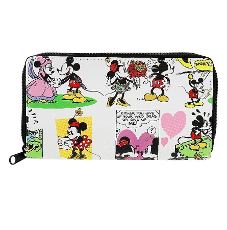 Disney Wallet - Mickey and Minnie Mouse Comic Strip