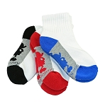 Disney Youth Socks - Mickey Mouse Silhouette - 3 Pack