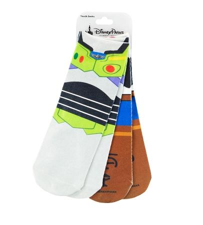 Disney Youth Socks - Toy Story - Woody and Buzz Lightyear