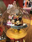Disney Globe Ornament - Happy Birthday - Mickey and Minnie Mouse