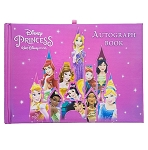 Disney Autograph and Photo Book - Princesses with Castle
